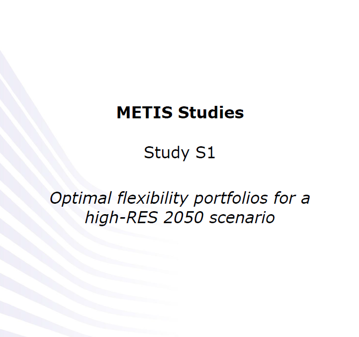 Optimal flexibility portfolio for a high-RES 2050 scenario