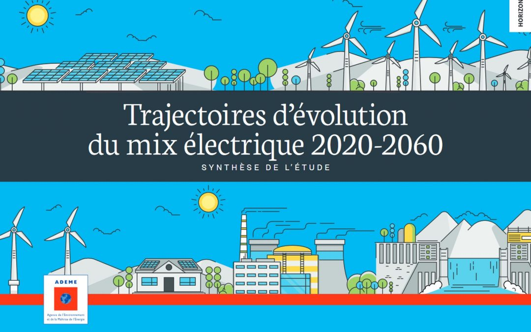 Evolutions of the French electricity mix between 2020 and 2060