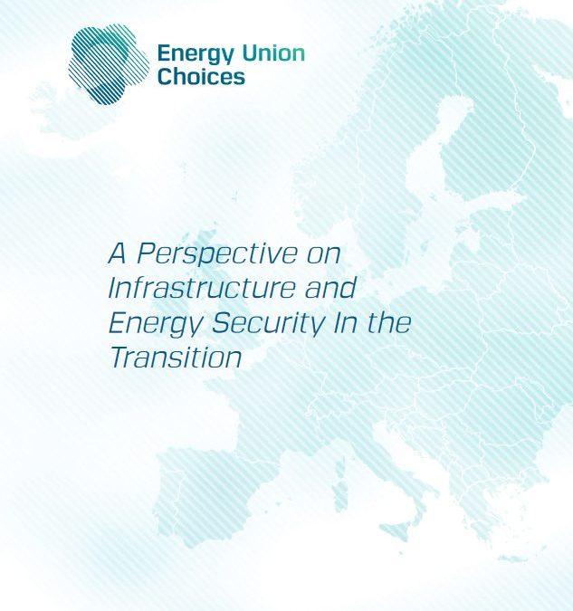 Infrastructures gazières et sécurité d'approvisionnement au cours de la Transition Energétique