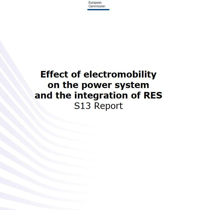 Effect of electromobility on the power system and the integration of RES