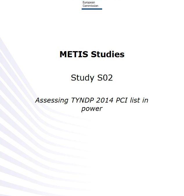 Assessing TYNDP 2014 PCI list in power