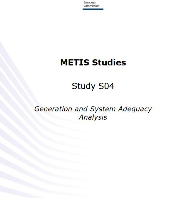 Generation and System Adequacy Analysis