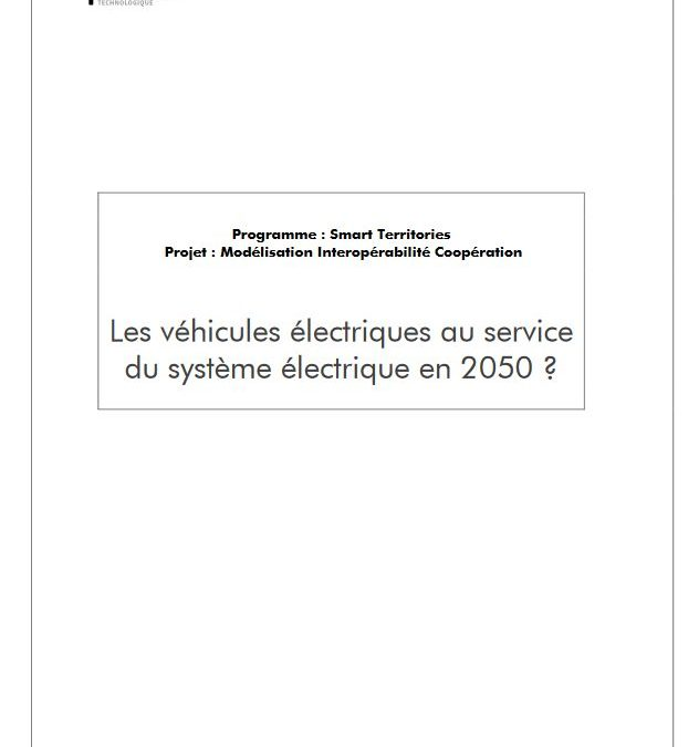 Electric vehicles in the service of the power system by 2050?