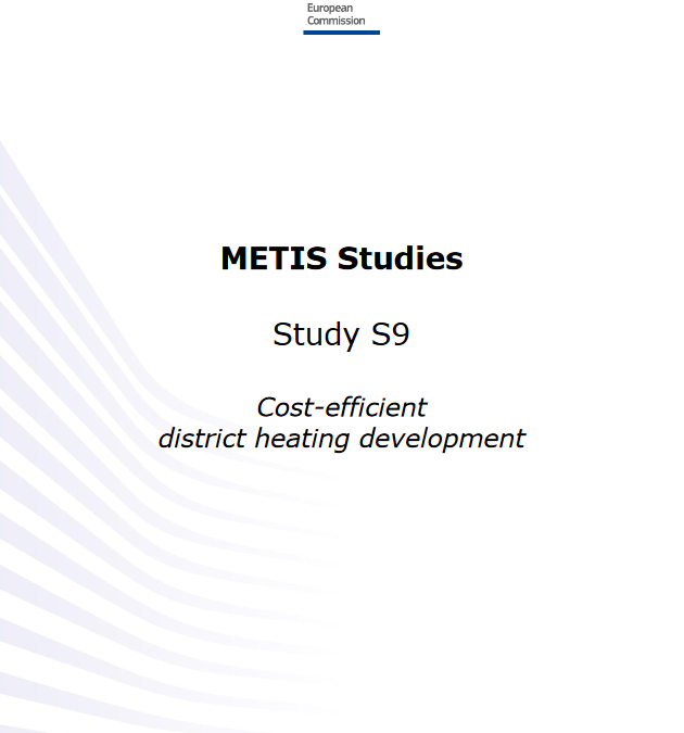 Cost-efficient district heating development