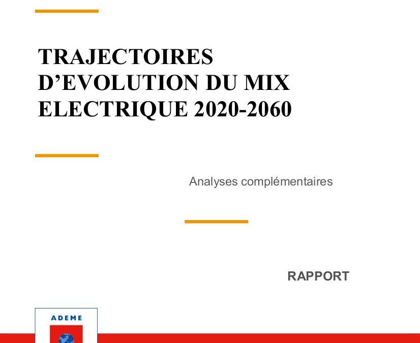 Trajectoires d'évolution du mix électrique 2020-2060, analyses complémentaires