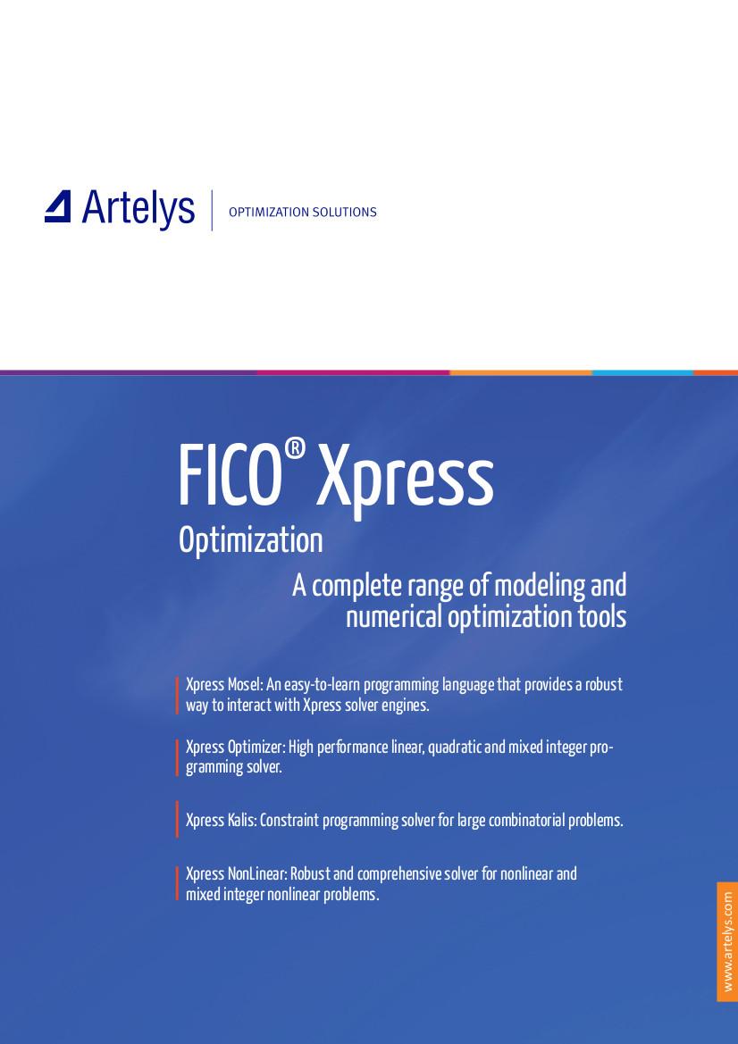 FICO® Xpress - Artelys