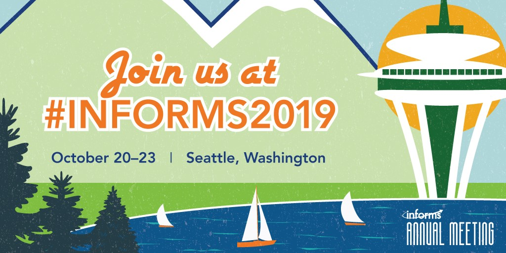 Meet Artelys at the 2019 INFORMS Annual Meeting in Seattle (USA)