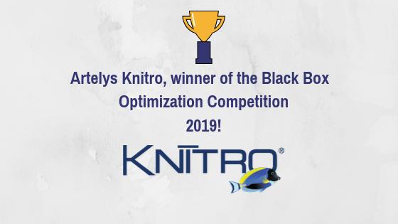 Artelys Knitro, le gagnant de l'édition 2019 de BBComp!