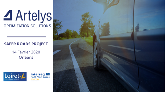 Artelys tackles road safety challenge with the Loiret department in France