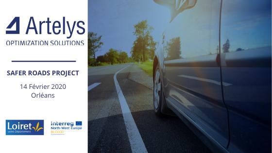 Artelys s'attaque au défi de la sécurité routière avec le département du Loiret