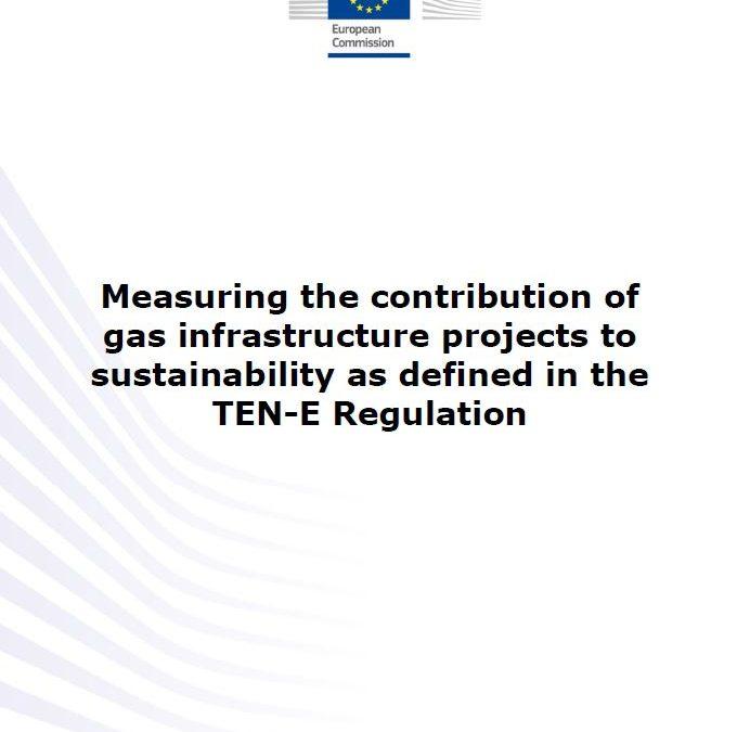 Évaluation des impacts environnementaux des projets d'infrastructure gaz tels que définis par la régulation TEN-E