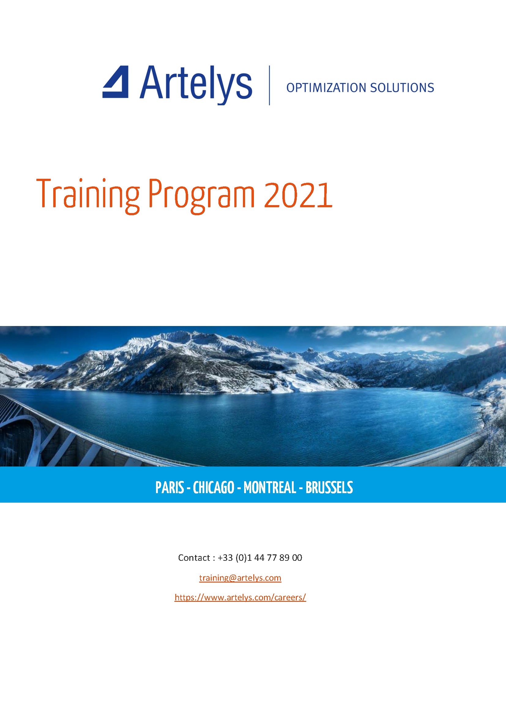 Training program 2021